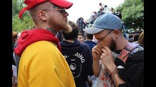 Smoking Mass Weed at Mac Miller's Blue Slide Park Vigil