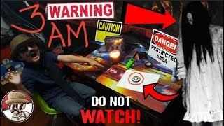 THE SCARIEST 3AM CHALLENGE!! WARNING!! DO NOT WATCH!! Opening Pokemon Cards!! THIS IS 100% REAL!!