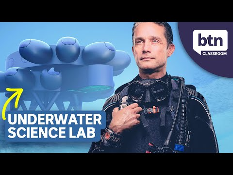 Fabien Cousteau's Underwater Research Lab - Behind the News