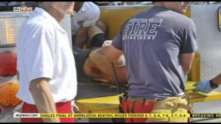 Great White Shark Attacks Man off Manhattan Beach In California