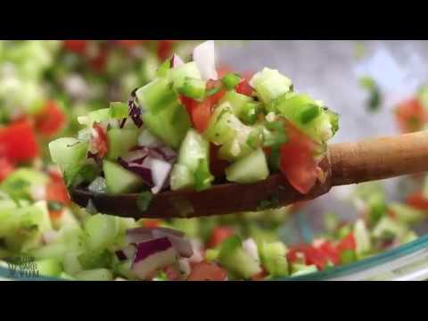 Cucumber Salsa with Fresh Tomatoes
