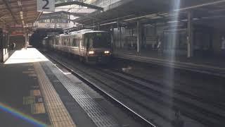223系MA05編成区間快速新三田行き@西宮名塩駅