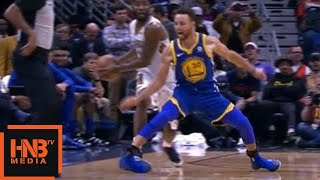 Stephen Curry Ankle Injury / Warriors vs Pelicans