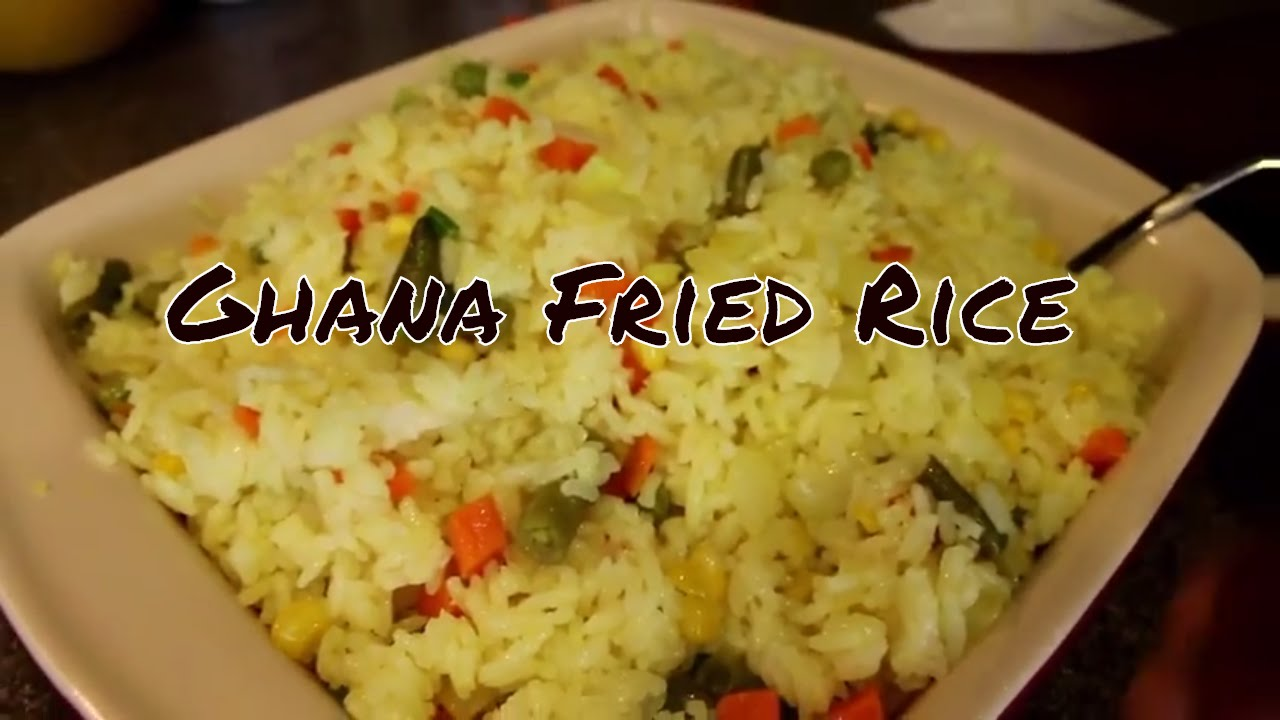 Authentic ghana fried rice check check youtube ccuart Gallery