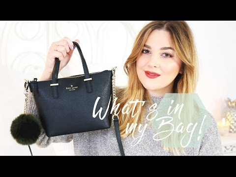 What's In My Bag: Kate Spade Edition! | I Covet Thee