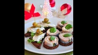 Рулетики из сельди рецепт блюда из селедки/ закуска/ праздничный стол