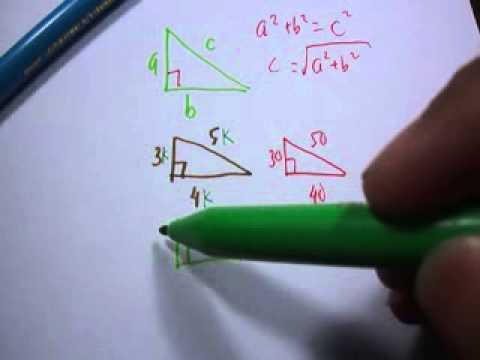 Pythagoras Cara Cepat Dengan Pola Phytagoras - Matematika Sd Smp Sma