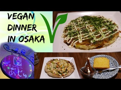 Vegan Dinner at Aju || Osaka Japan