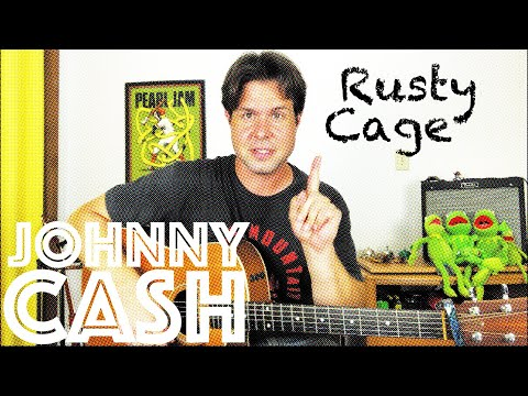 Guitar Lesson: How To Play Johnny Cash's Rendition of Soundgarden's Rusty Cage from YouTube · Duration:  4 minutes 1 seconds