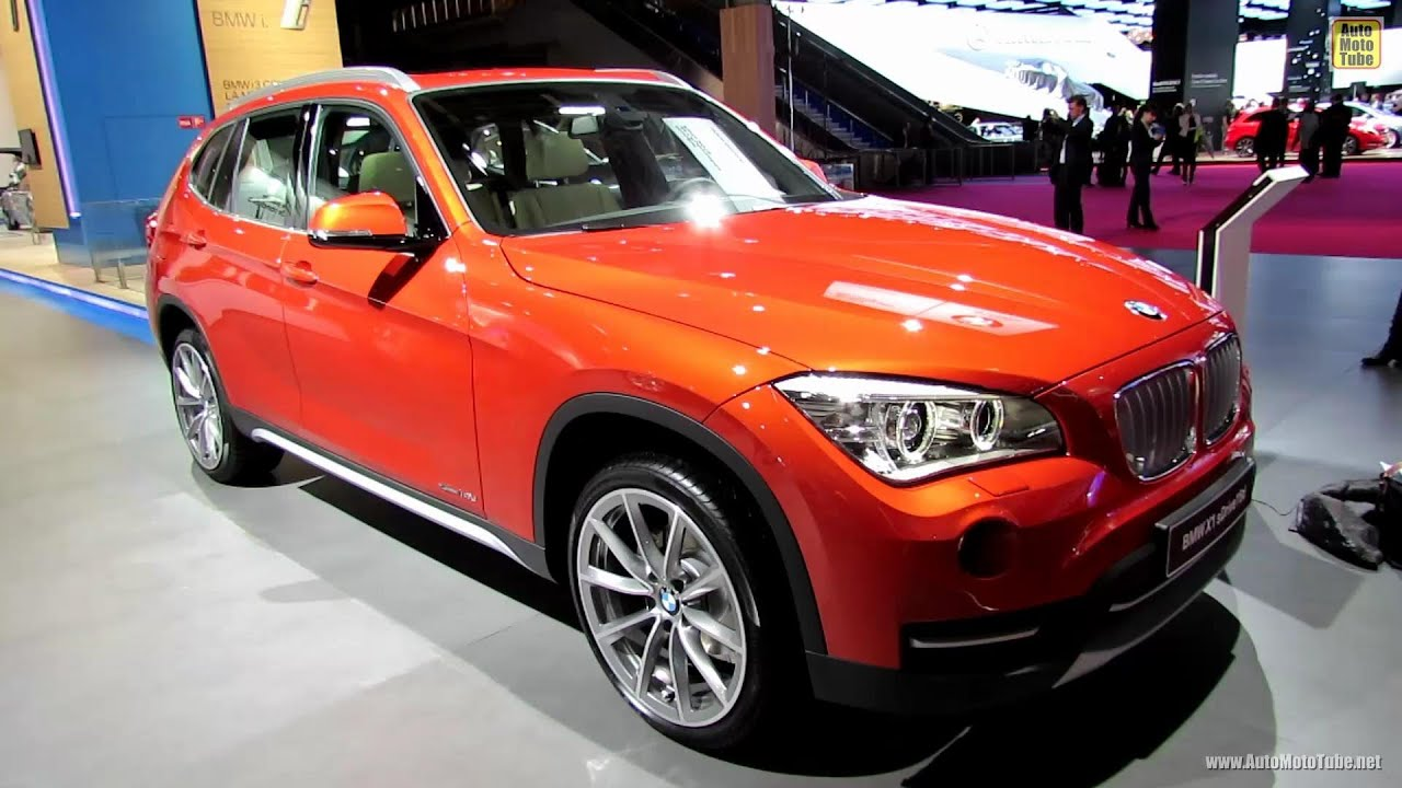 2013 bmw x1 sdrive 16d xline exterior and interior walkaround 2012 paris auto show youtube. Black Bedroom Furniture Sets. Home Design Ideas