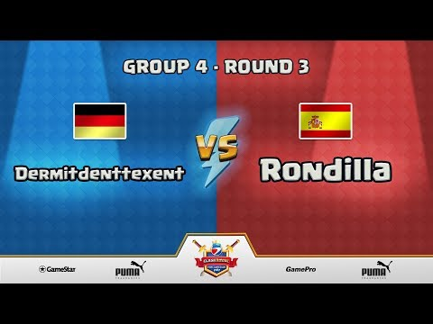 ESWC Gamescom 2017 Clash Royale - Group 4 - Round 3 - Dermitdenttexent vs Rondilla