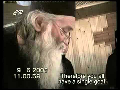 oude wijze man met baard