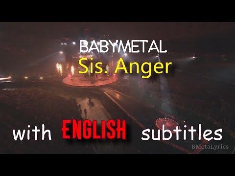 Babymetal - Sis Anger