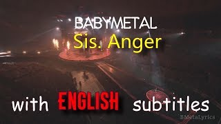BABYMETAL - Sis.Anger [English subtitles] | Live Compilation