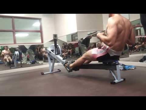 Adam Neill 2Km Erg Test 5:48