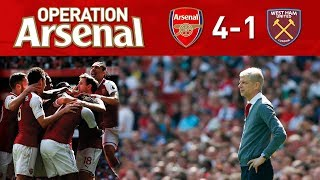 ARSENAL 4-1 WEST HAM - BEGINNING OF THE END.