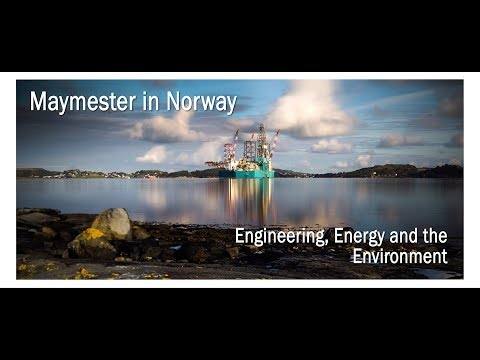 Support Petroleum Engineering Study Abroad in Norway