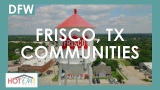 Check out these incredible new home communities in Frisco! Video
