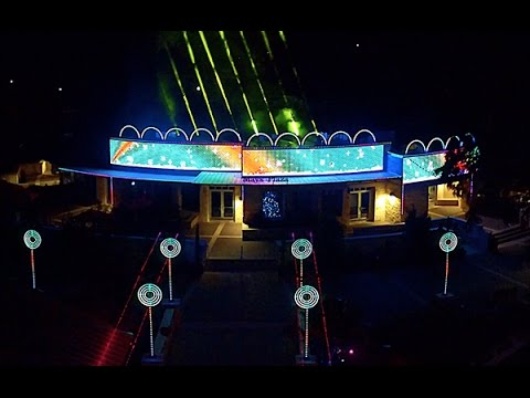 2016 Johnson Family Dubstep EDM Christmas Light Show - YouTube