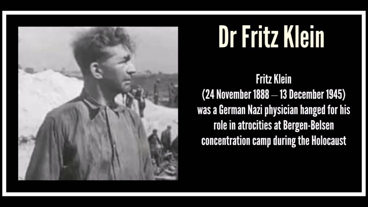 dr fritz klein