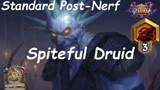 Hearthstone: Spiteful Druid #3: Boomsday (Projeto Cabum) - Standard Constructed Post Nerf