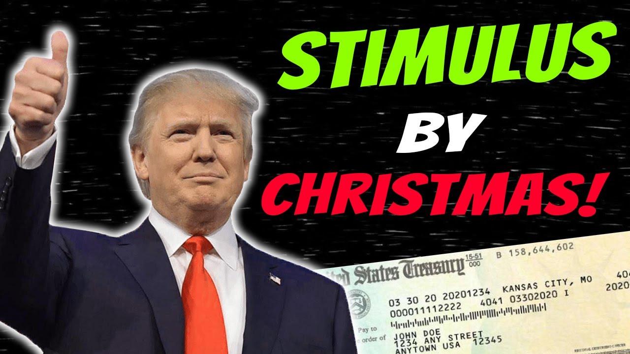 Stimulus By CHRISTMAS! Second Stimulus Check Update   SSI SSDI