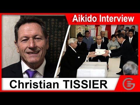 Aikido - Christian Tissier promotion to 8th Dan Aikikai (Interview w/ English subtitles)