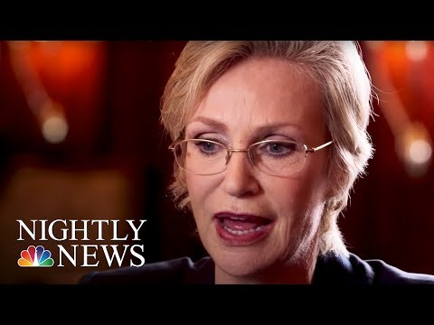 Jane Lynch Talks About Her Career, Her Challenges, Caffeine Addiction & More | NBC Nightly News