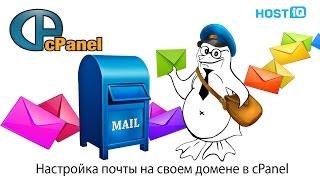 Настройка почты на своем домене в cPanel | HOSTiQ