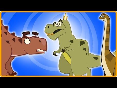 DINOSAURS FROM NORTH AMERICA | Torvosaurus | Dinosaur Cartoons for Children by I