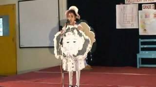 Mahi 1st grade cloud fancy dress