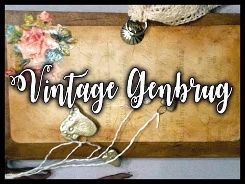 Journal - Vintage Genbrug