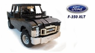 Lego Ford F-350 XLT Pickup Truck