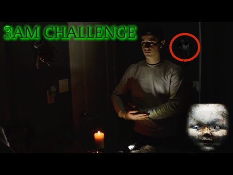 BABY BLUE CHALLENGE AT 3AM! (DEMONIC GAME)