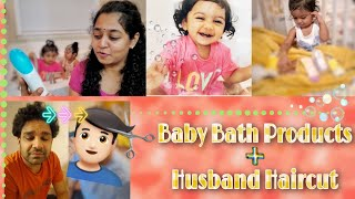#Vlog | Grooming Weekend | Baby Bath Products | Quarantine Hair Cut