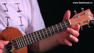 Видео урок: как играть песню El Condor Pasa - Daniel Robles на укулеле (гавайская гитара)