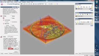 [Hướng dẫn ARTCAM] Hướng dẫn gia công phá thô trong Artcam - Khắc tranh gỗ