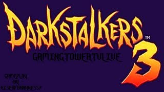 Darkstalkers 3 [PS1] - Gameplay