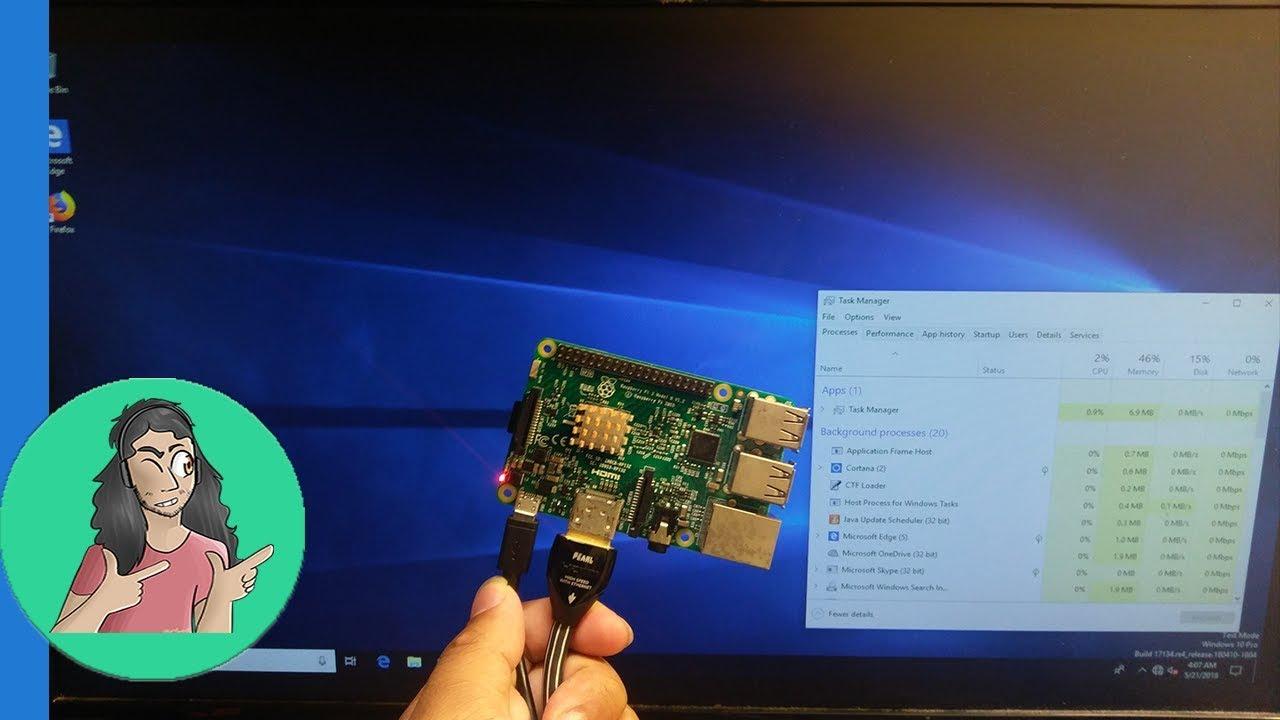 Windows 10 ARM On Raspberry Pi Overview