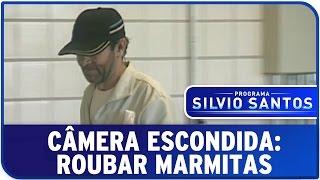 Câmera Escondida: Roubar Marmitas