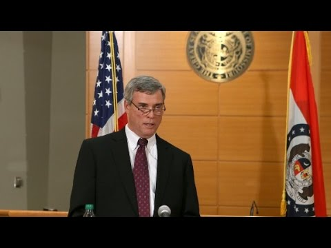 (Full Video) Ferguson grand jury announcement