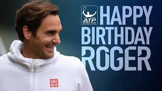 Happy 37 Birthday Roger Federer