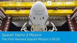 Watch Live! SpaceX Demo-2 Mission To The International Space Station
