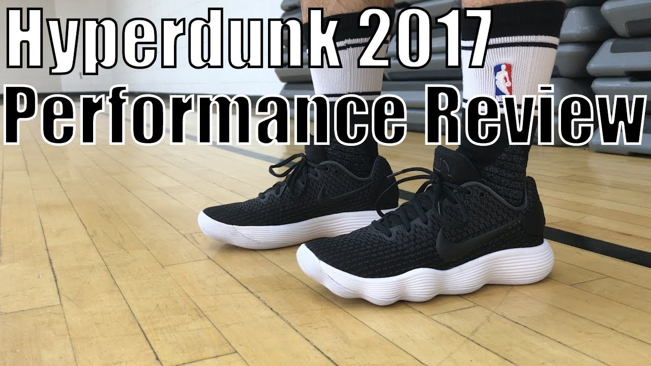d947cabd883d Nike React Hyperdunk 2017 Low Performance Review - YouTube