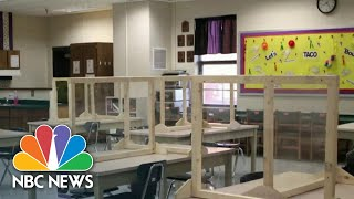 Quarantines And Closures As Schools Reopen Across The U.S.| NBC Nightly News