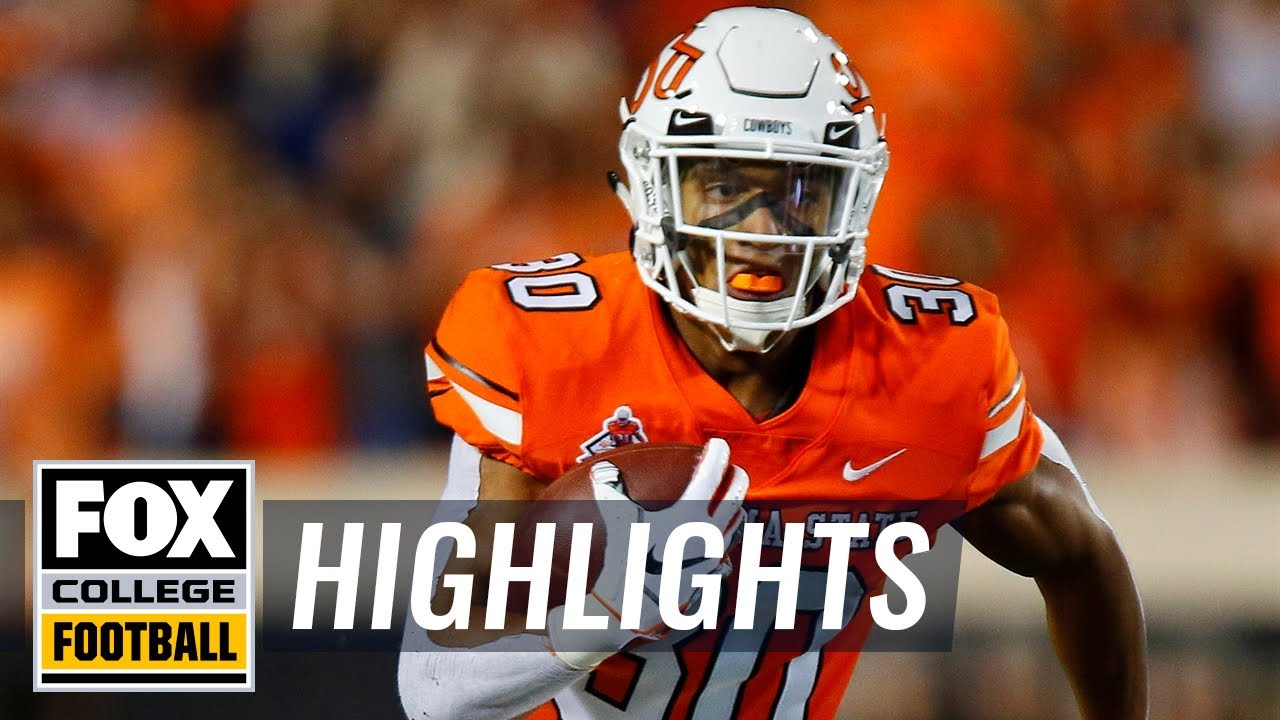 Oklahoma State vs  Oregon State | FOX COLLEGE FOOTBALL HIGHLIGHTS