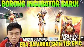 ABISIN DIAMOND! BORONG HADIAH UTAMA SKIN INCUBATOR SAMURAI! - Garena Free Fire thumbnail