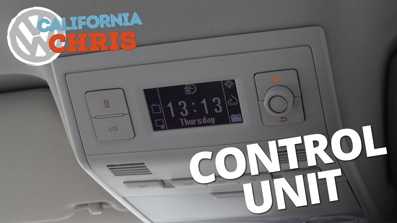 Vw California Camper >> VW California Ocean Control Unit | Fridge and Auxiliary