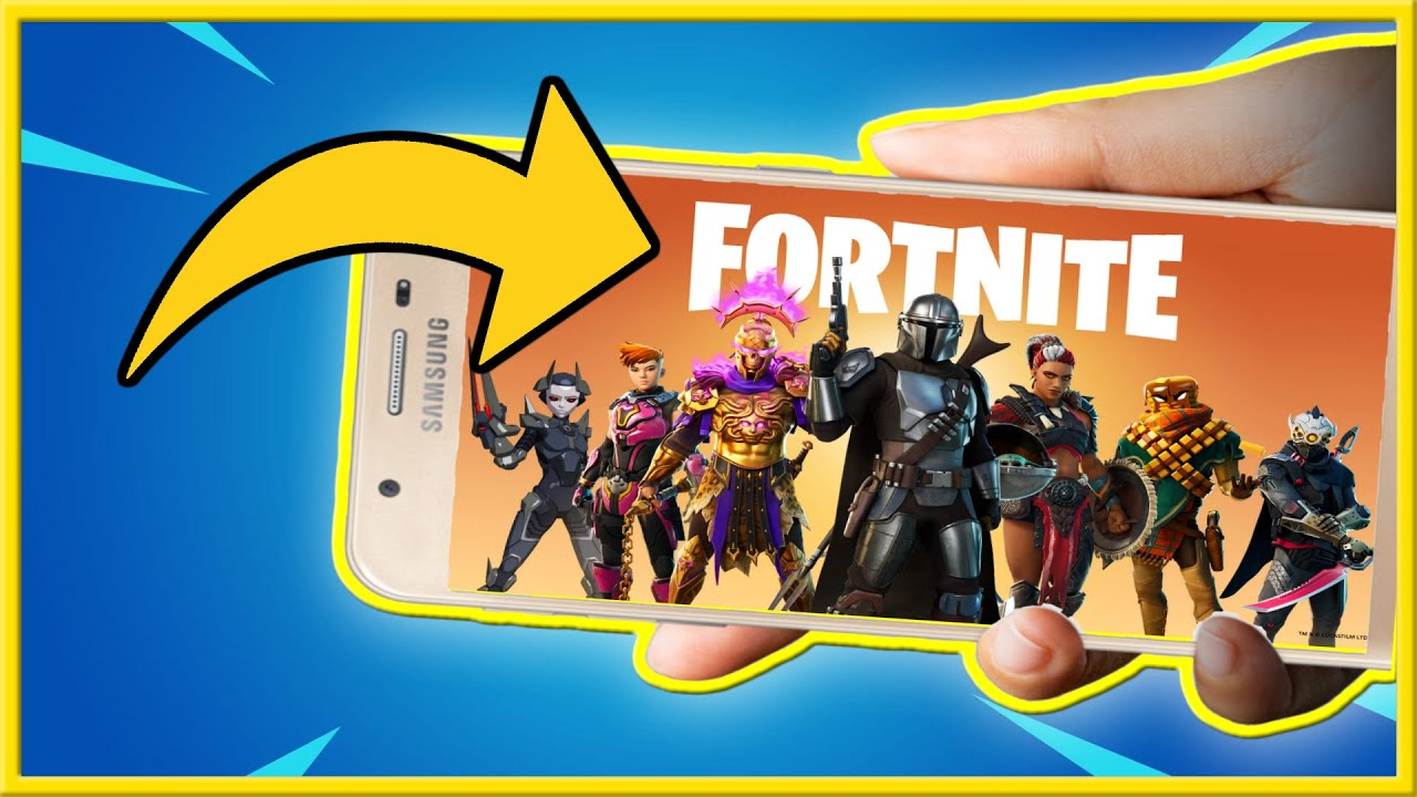 Download How to Download Fortnite Mobile on Android Phone (New Method!)