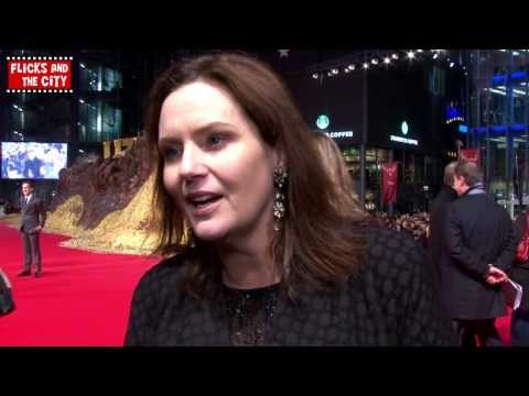 The Hobbit Desolation of Smaug Premiere   Writer Philippa Boyens